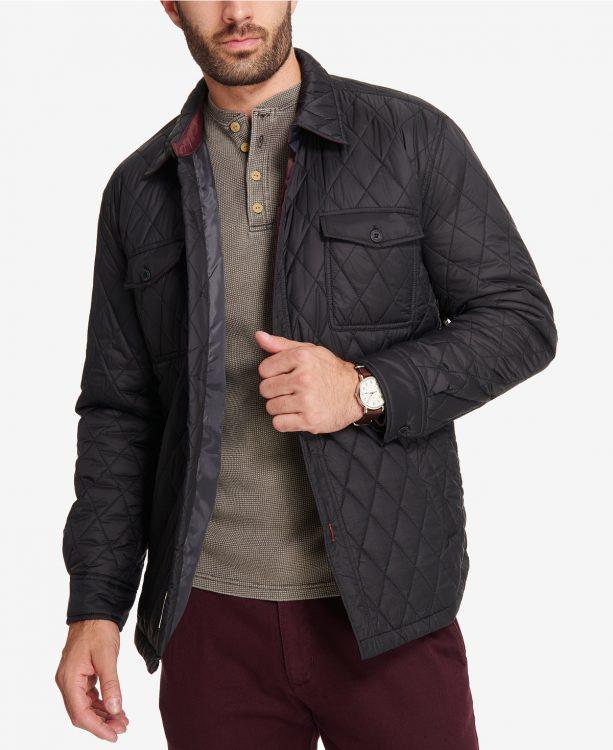 Weatherproof Vintage Men S Quilted Jacket Dealninja Daily Deals
