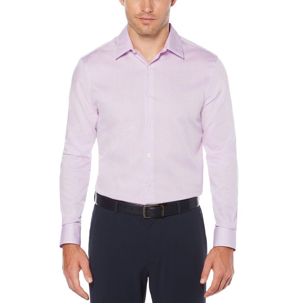 Perry Ellis Solid Dress Shirt