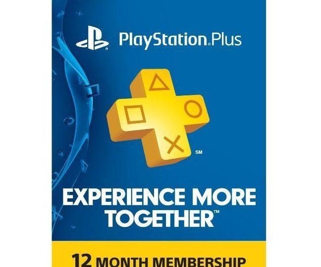 PlayStation Plus 1 Year Membership